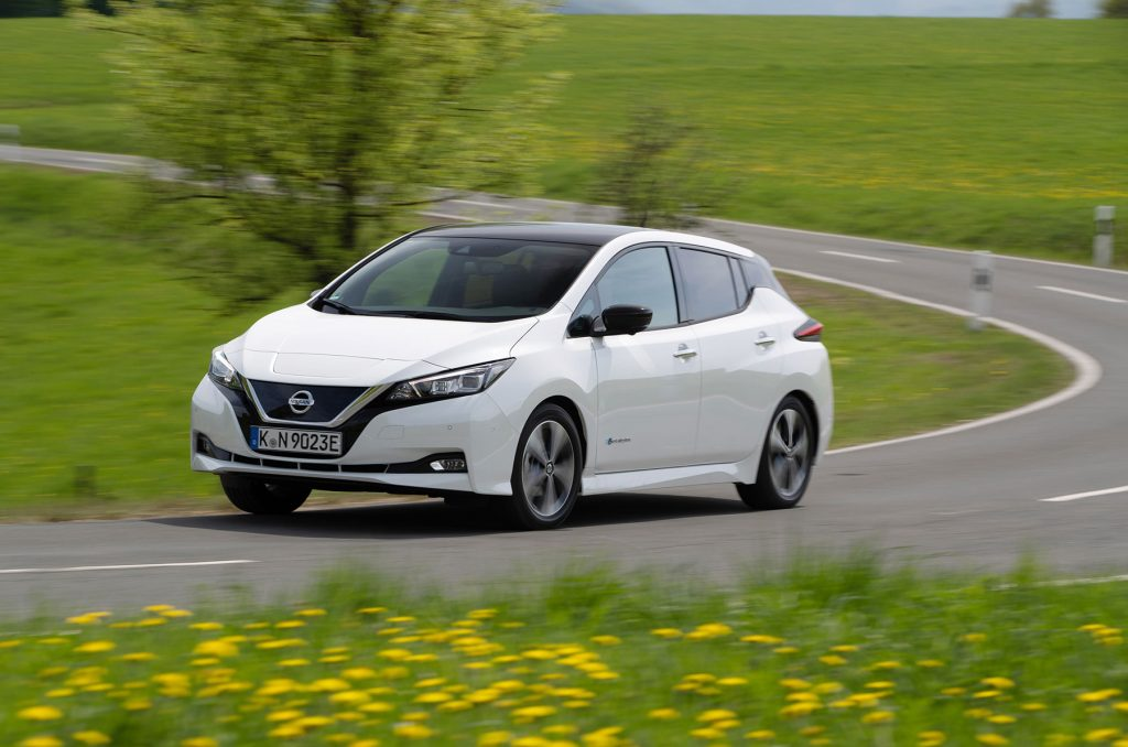 "Nissan LEAF, der ""Hidden Champion"" in Europa 2018"
