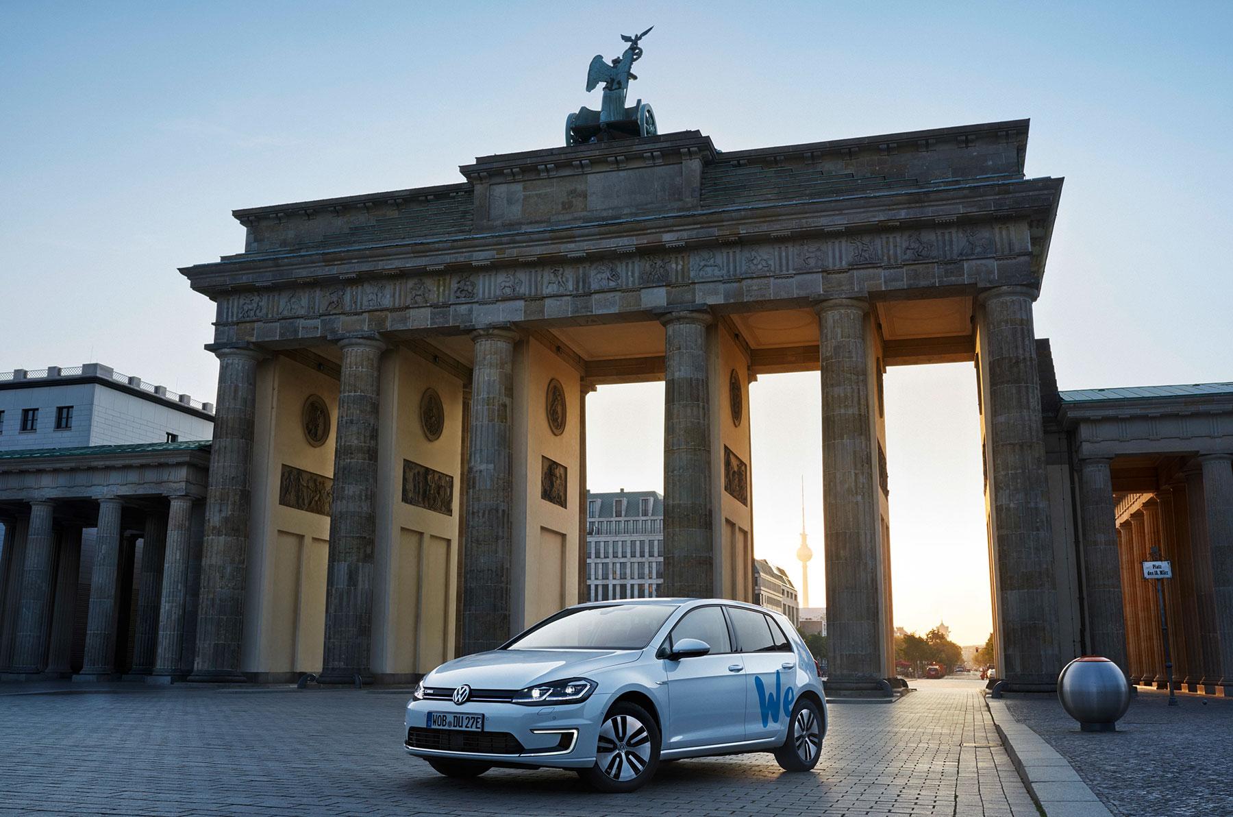 VWs WeShare-Flotte lädt in Zukunft auch bei Lidl und Kaufland