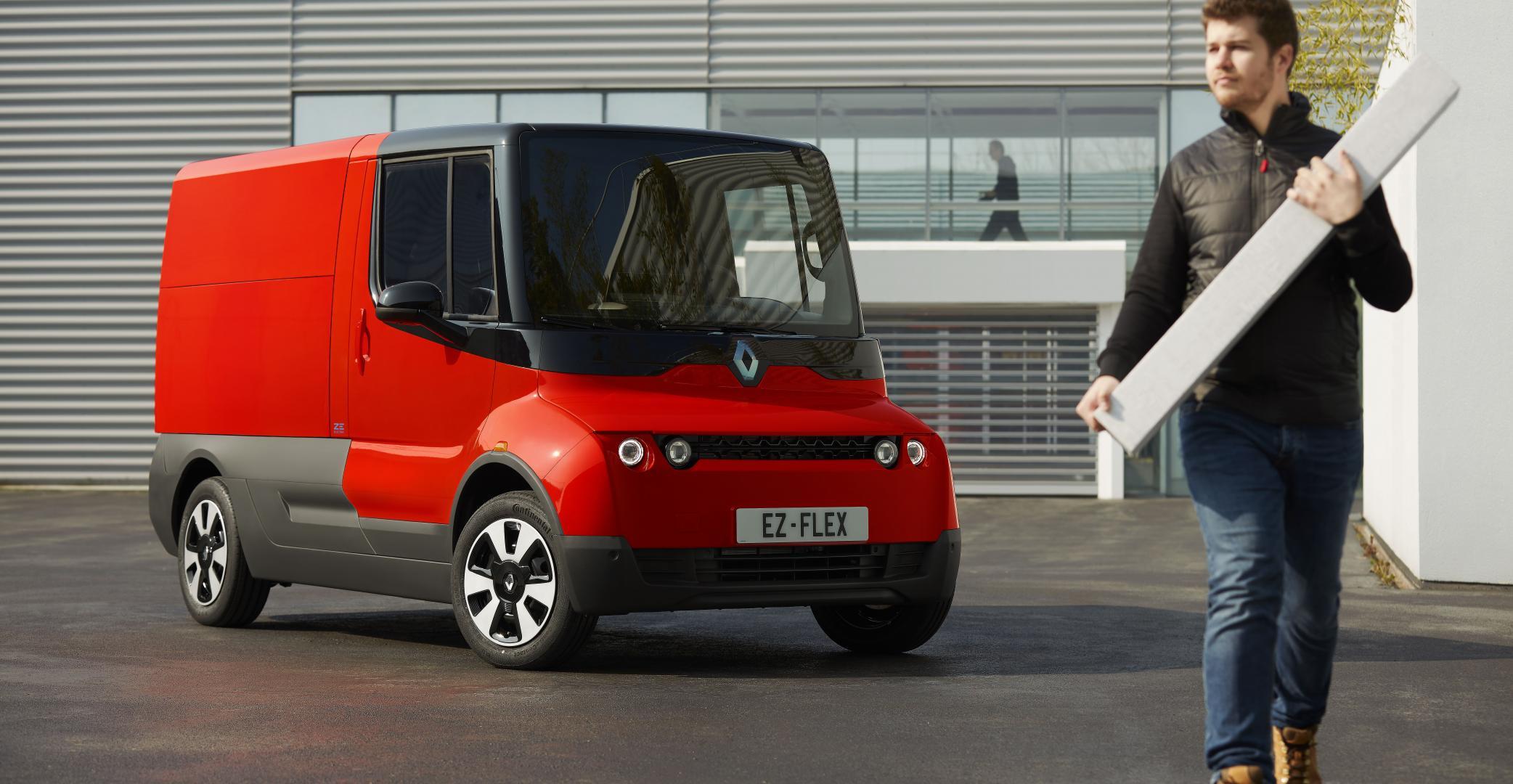 Innerstädtischer Lieferverkehr: Renault testet Versuchsträger EZ-FLEX