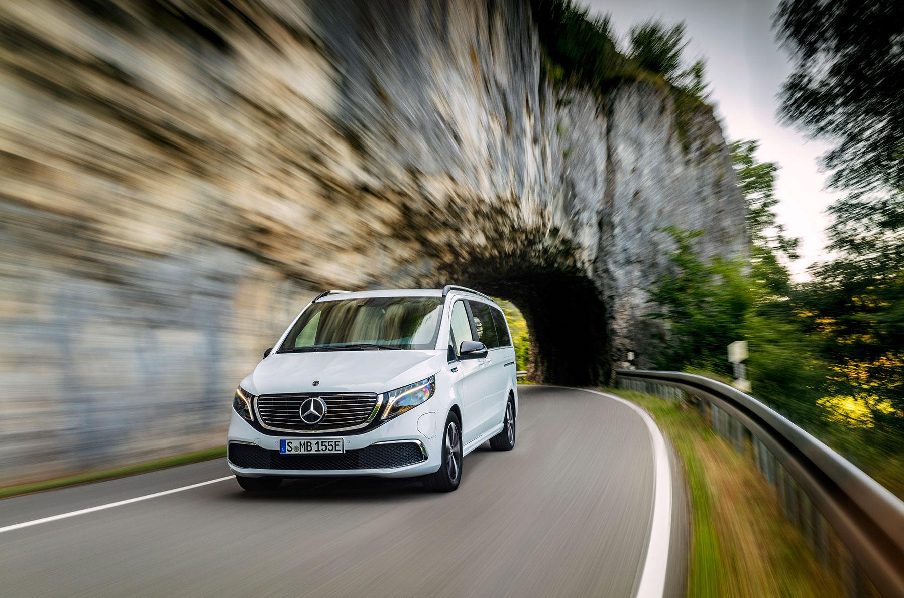 Mercedes EQV: die langersehnte Elektro-Großraumlimousine mit 405 km Reichweite kommt