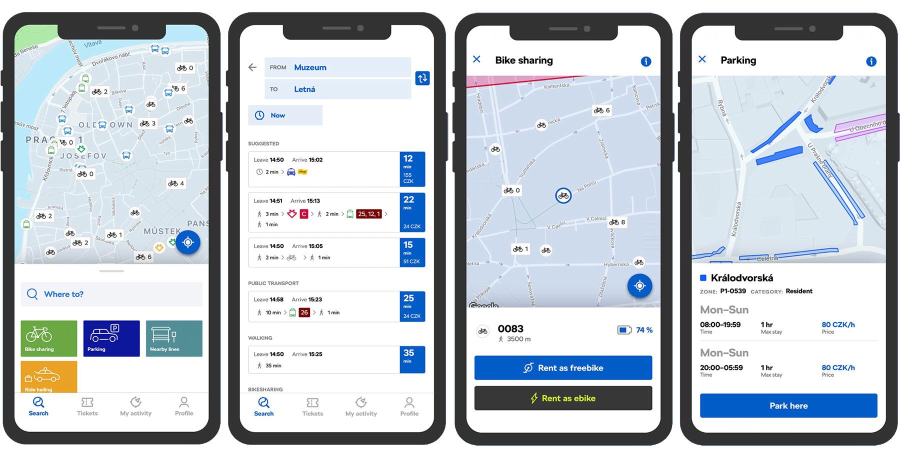 "Digitale Verkehrswende: ŠKODAS Mobilitäts-App ""Citymove"" geht online"