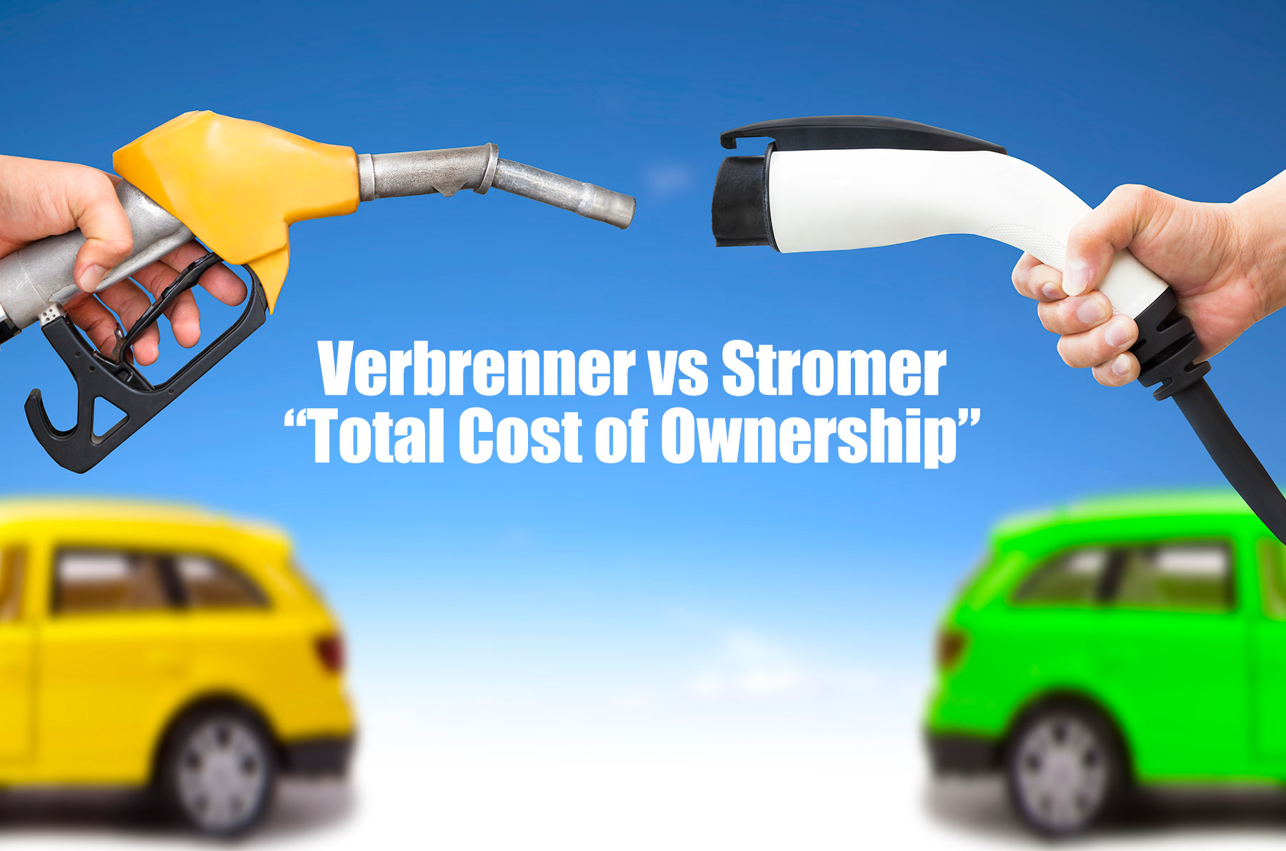 Verbrenner vs Stromer vs Plug-In Hybrid: Total Cost of Ownership (TCO)