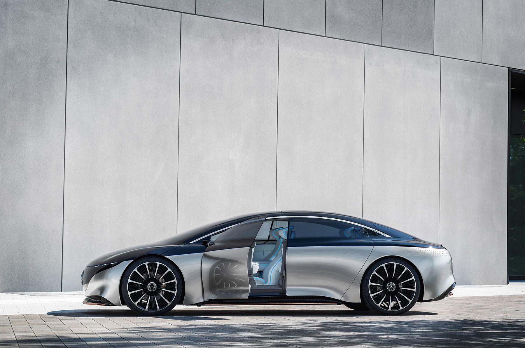 Mercedes-Benz VISION EQS auf der IAA: weniger ist mehr