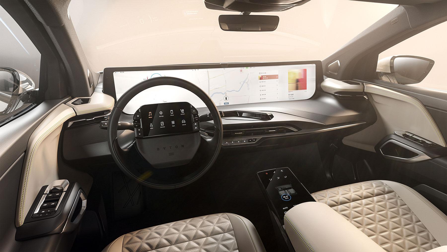 BYTON M-Byte: iPhone auf Rädern