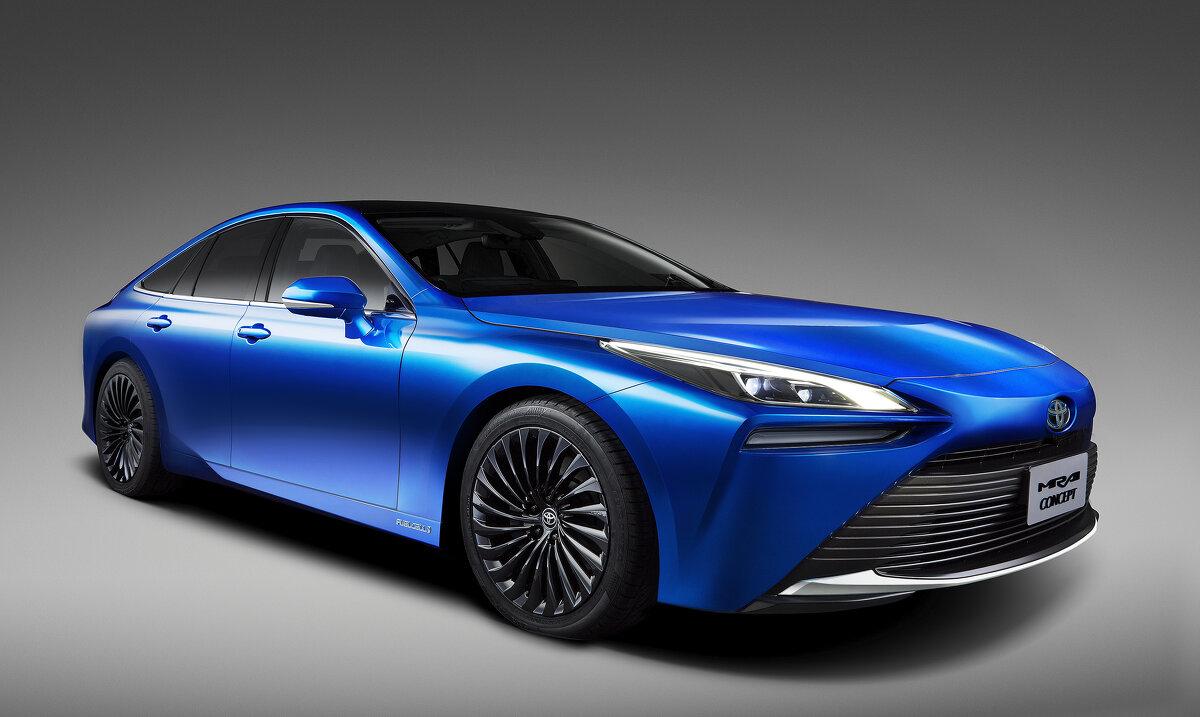 Toyota setzt weiter auf Wasserstoff: Mirai Concept auf der Tokyo Motor Show