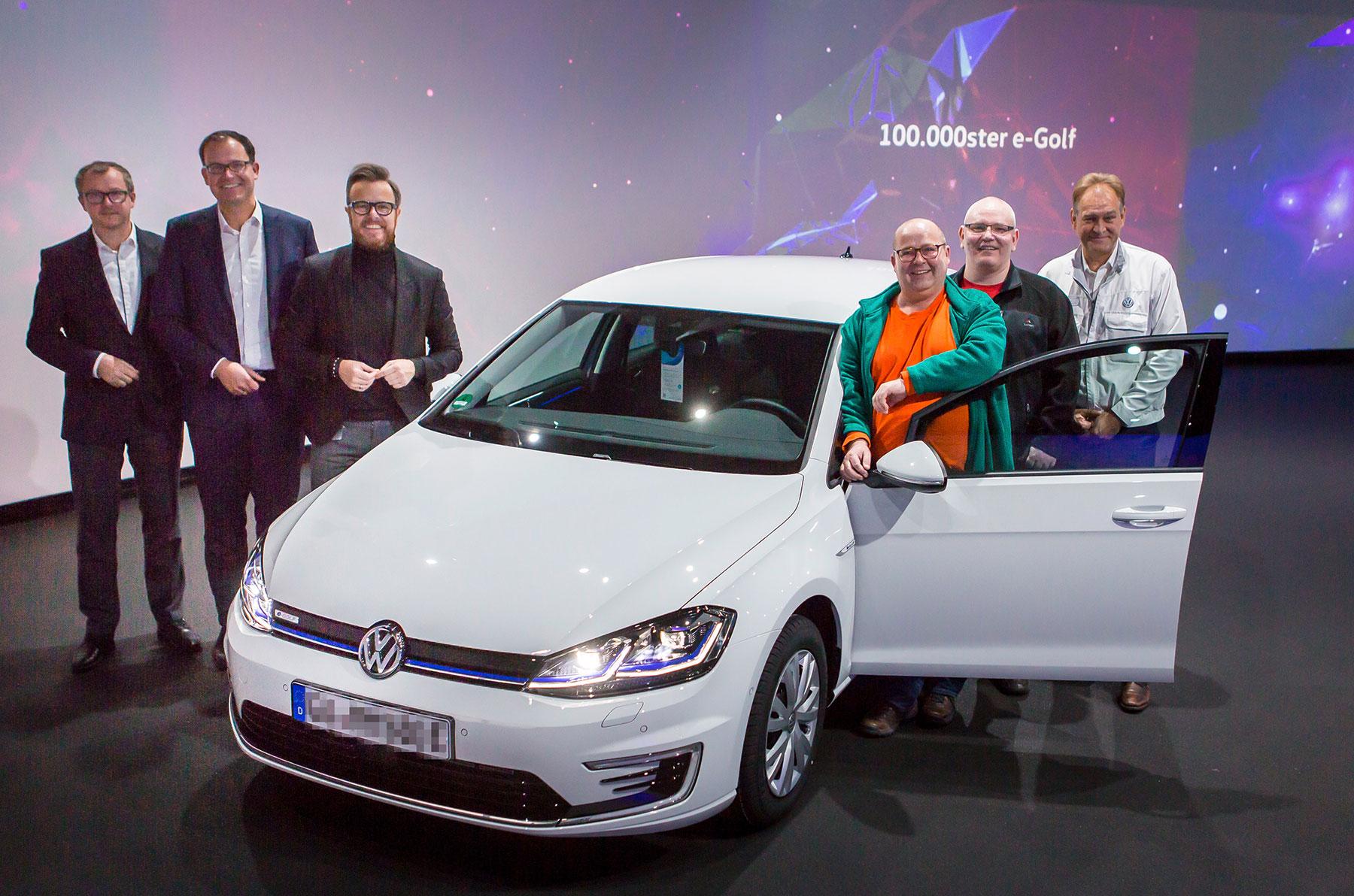 Donnerwetter: VW liefert den 100.000sten e-Golf aus