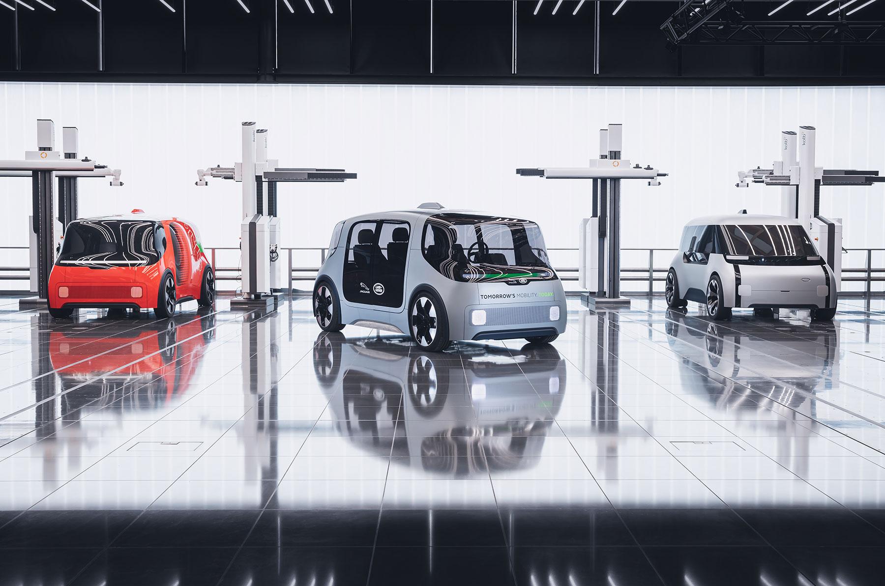 Jaguar Land Rover entdeckt die Zukunft der urbanen Mobilität