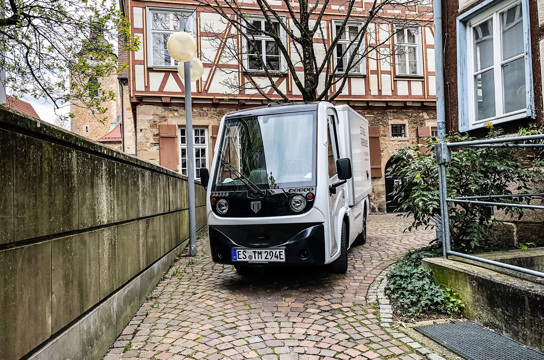 Tropos ABLE, der kompakte elektrische Transporter aus Herne