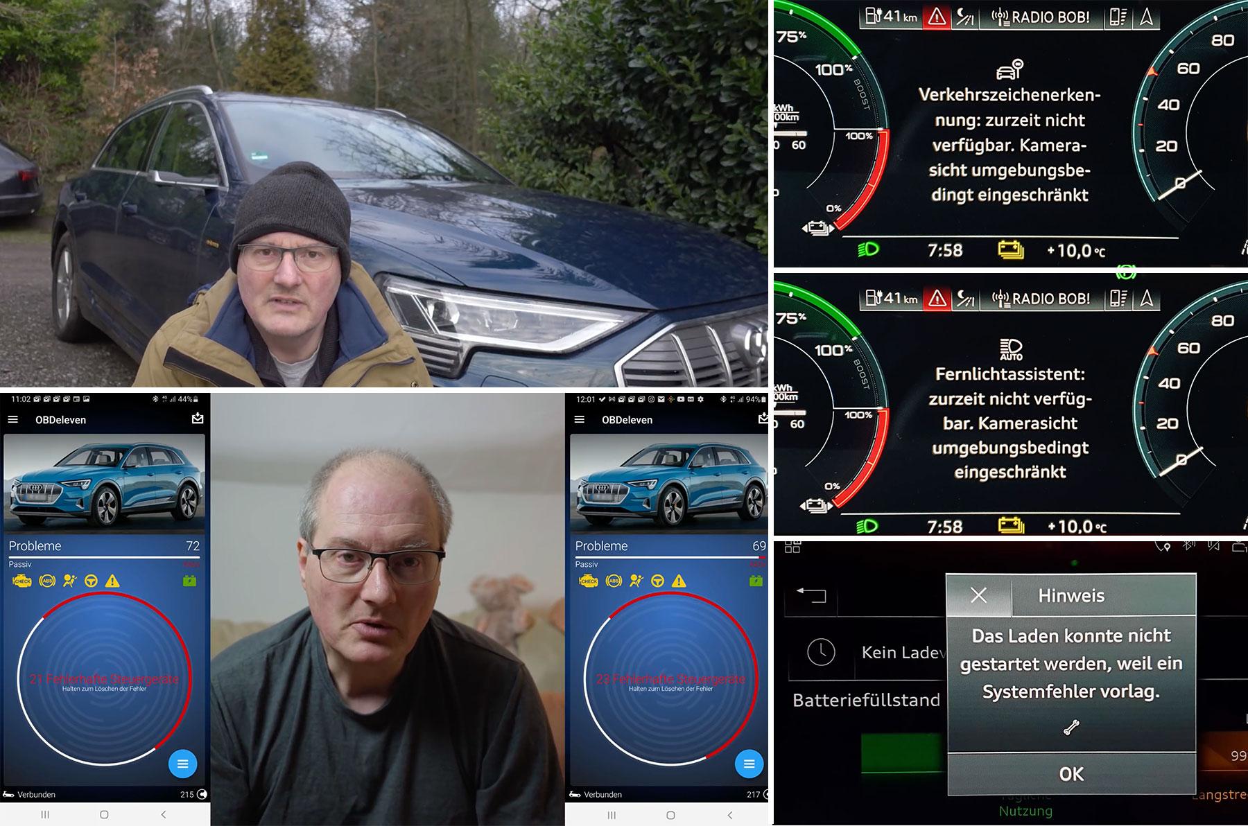 Montag Kompakt: Audi e-tron Montagsauto, Sandy Munro checkt 2021er Tesla Model 3, Daimler Entwicklungsvorstand im Interview, SUVs und CO2-Emissionen