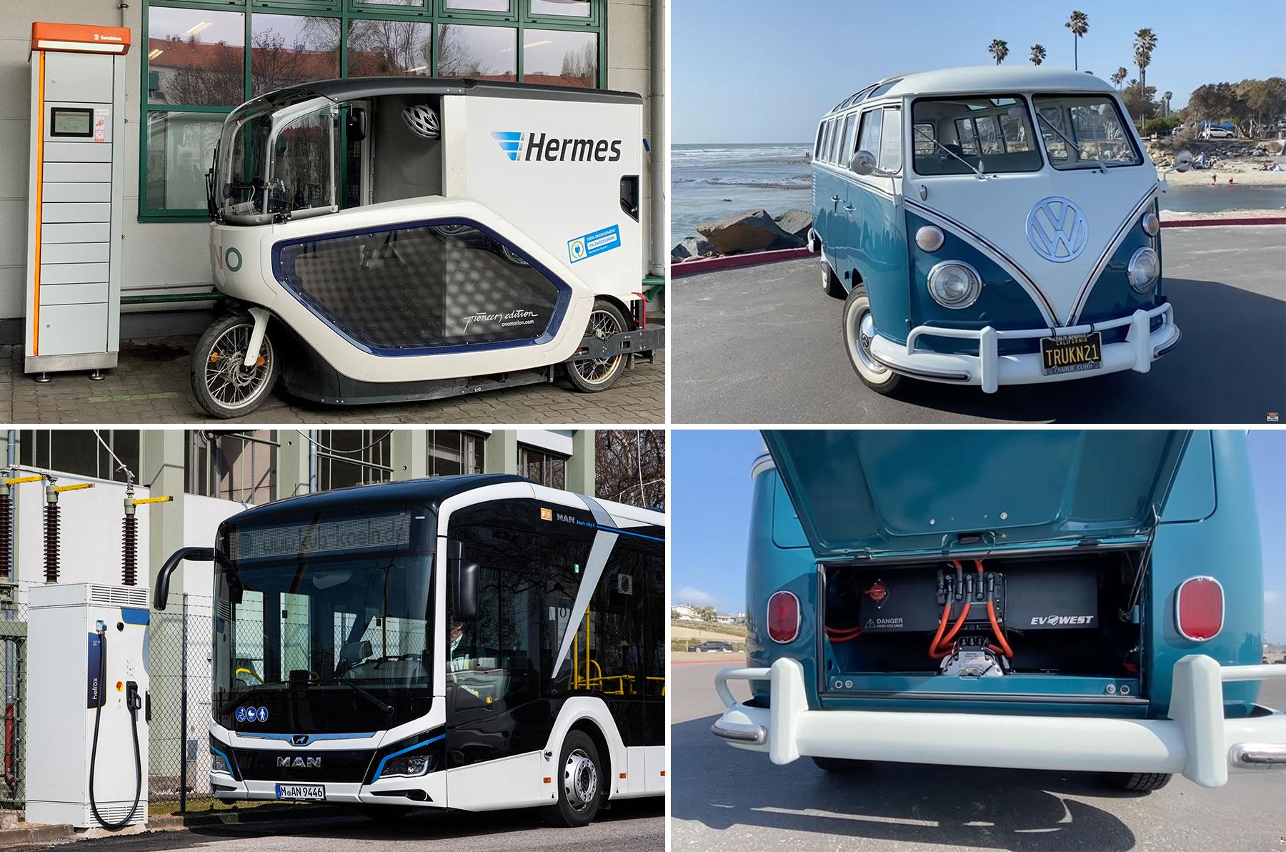Dienstag Kompakt: Perfekt konvertierter Elektro-Samba, MAN E-Gelenkbus auf Linie, Hermes baut Lastenradflotte aus, bei PHEVs sind die Deutschen am innovativsten - e-engine - Alles rund um E-Mobilität