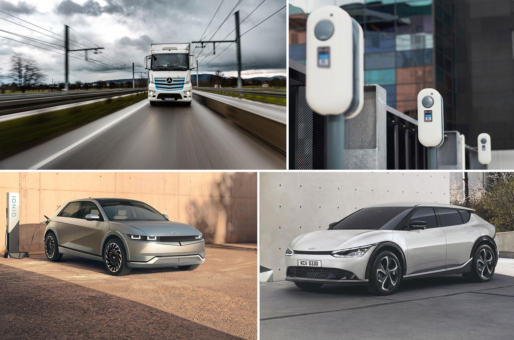 Donnerstag Kompakt: Kia EV6 vs IONIQ 5, Wertverlust bei Elektro-Gebrauchtwagen, Hyundai setzt auf Vitesco Technologies, Daimler auf Elektro statt Oberleitung - e-engine - Alles rund um E-Mobilität
