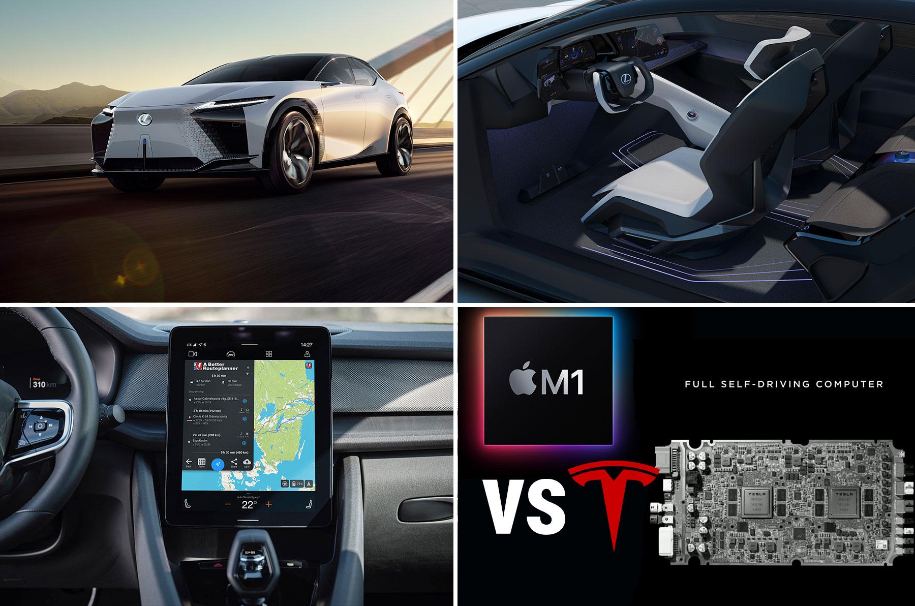 Mittwoch Kompakt: Rasante Stromer-Studie von Lexus, A Better Routeplaner mit Polestar 2, EnBW und Ionity, Apple M1 vs Teslas HW 3.0, E-Mobilitäts-Apps im Vergleichstest - e-engine - Alles rund um E-Mobilität