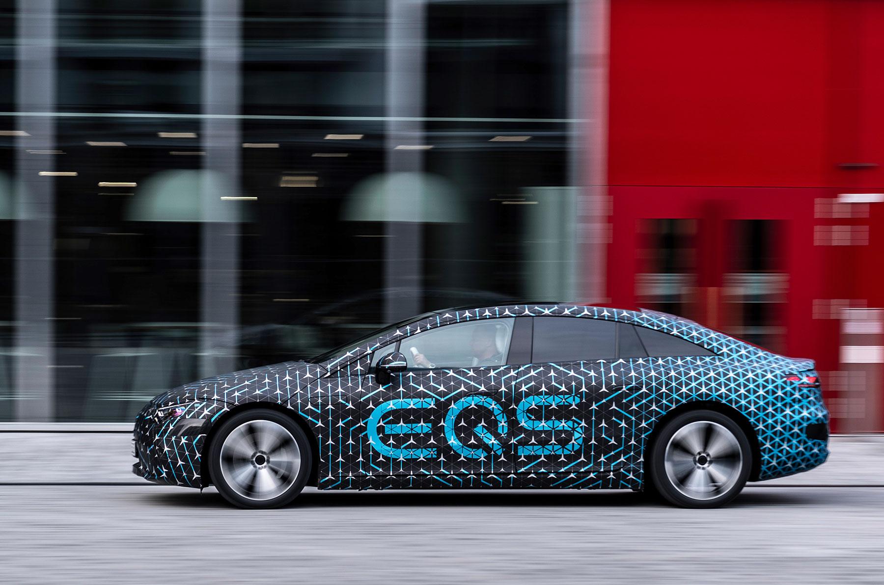 Mercedes-Benz EQS: ist der Luxus-Elektroliner konkurrenzfähig zu Tesla, Lucid & Co?